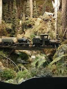 On30 Logging Layout Scene