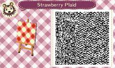 Strawberry/Red Plaid | QRCrossing.com