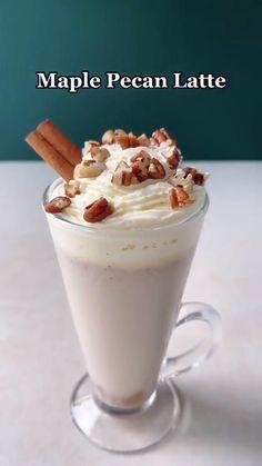 Dessert Drinks, Yummy Drinks, Dessert Recipes, Yummy Food, Coffee Creamer, Coffee Latte, Iced Coffee, Coffee Drinks, Smoothie Drinks