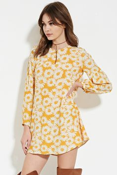Floral-Print Shift Dress | FOREVER 21 saved by #ShoppingIS