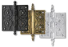 Decorative Brackets and hinges - Yahoo Image Search Results Screen Door Hinges, Fence Doors, Butt Hinges, Door Latches, Antique Hinges, Antique Hardware, Decorative Brackets, Decorative Metal, Hinges For Cabinets