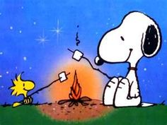 """'""""Woodstock knows that he is very small and inconsequential indeed. The universe boggles us…Woodstock is a lighthearted expression of that idea. Schulz on Woodstock Snoopy Love, Snoopy Et Woodstock, Charlie Brown Y Snoopy, Peanuts Cartoon, Peanuts Snoopy, The Peanuts, Snoopy Cartoon, Cartoon Town, Camping Parties"""