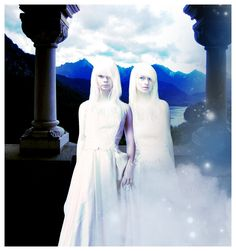 Fan Art - Abhorsen Trilogy by Garth Nix - Twins Ryelle & Sanar