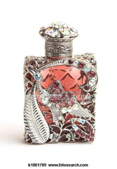 ❀ ❀ beautiful silver and red bottle  The Book of Lost Fragrances by M.J. Rose #Thriller #Books #History