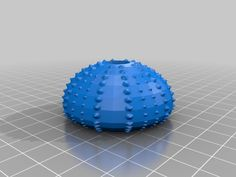 Sea Urchin by AndrewStaroscik - Thingiverse