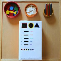 Fine Motor Mini Drop Box - Racheous - Respectful Learning & Parenting