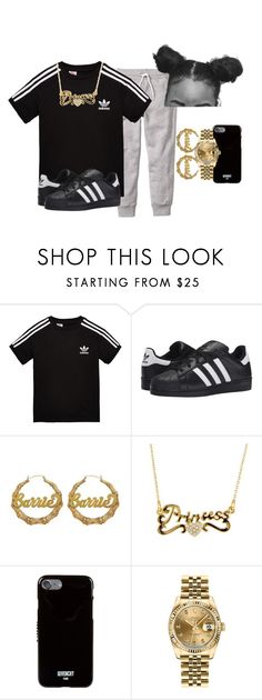 """"""""""" by kashharmonii ❤ liked on Polyvore featuring adidas Originals, Givenchy and Rolex"""
