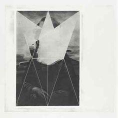 Jana Gunstheimer. Composition I, 79 x 80 cm, Grafit auf Papier, 2013