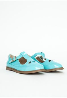 Missguided - Dalia Mint T Bar Dolly Shoes