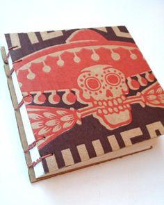 Journal Notebook Sketchbook Recycled Beer Box by ReBoundBooks