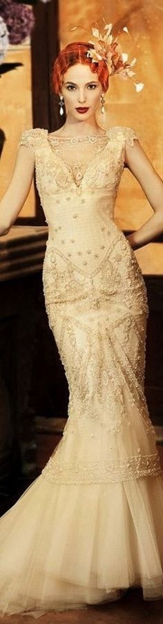 Floor-Length Gold sequin Diva/'s Pageant Gown with star burst detailing