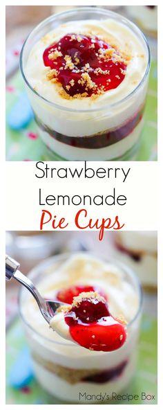 Strawberry Lemonade Pie