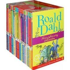 Roald Dahl... for little kids and big kids too...