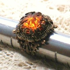 The most gorgeous topaz ring i have ever seen.