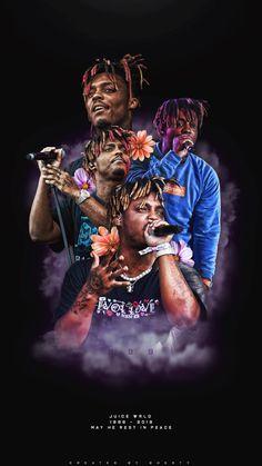 Rapper Wallpaper Iphone, Hype Wallpaper, World Wallpaper, Painting Wallpaper, Painting Canvas, Canvas Art, Retro Wallpaper, Arte Do Hip Hop, Hip Hop Art