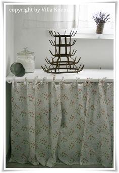 villa knig rideau pour meuble de cuisine - Rideau Original Cuisine