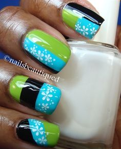 Color Block Nail Art by rmcandlelight from Nail Art Gallery