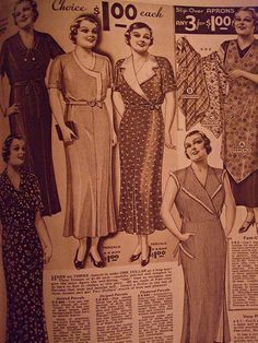 Lane Bryant Spring/Summer 1935   Flickr - Photo Sharing!