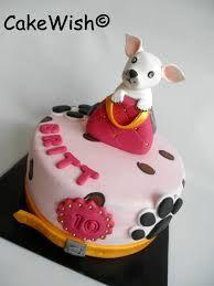 chihuahua cake pink - Google Search