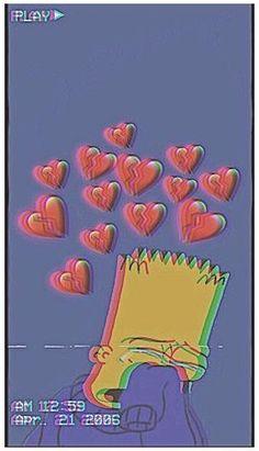 Simpson Wallpaper Iphone, Tumblr Iphone Wallpaper, Disney Phone Wallpaper, Cartoon Wallpaper Iphone, Iphone Background Wallpaper, Cute Cartoon Wallpapers, Wallpaper Quotes, Iphone Wallpapers, Simple Wallpapers