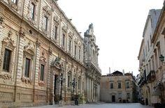 """""""Palazzo dei Celestini"""" and """"Basilica di Santa Croce"""" in Lecce, city capital of Salento, the heel of Italian boot (my home)"""