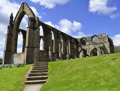 Bolton Abbey Ruins  Yorkshire  England