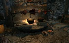 Skyrim Cooking: Chicken Dumplings | Cats in the Attic