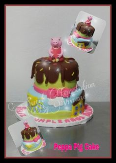 Peppa Pig Cake Peppa La cerdita
