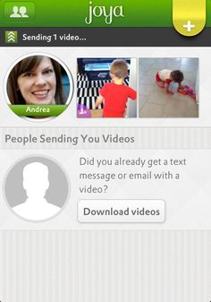 Joya is a FREE app for private video sharing. - SO cool!