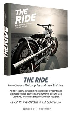 The most eagerly-awaited motorcycle book of recent years—a joint production between Chris Hunter of Bike EXIF and @Gestalten, the leading European art book publisher.   Pre-order your copy now for $44.46 and save almost a third off the RRP.