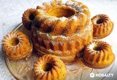 Sütőtökös kuglóf Ring Cake, Fall Recipes, Scones, Doughnut, Halloween Party, Muffin, Breakfast, Food, Muffins