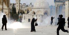 La Palestina in rivolta.  Scontri e violenze faranno da cornice all'imminente visita di Obama in Medio Oriente. (Reuters/Ammar Awad)