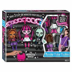 I'm learning all about Monster High Monster Maker at @Influenster!