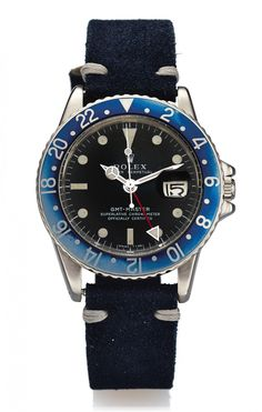 """An Ultra-Rare Rolex """"Blueberry"""" GMT Master To Be Auctioned-Off At Antiquorum NYC"""