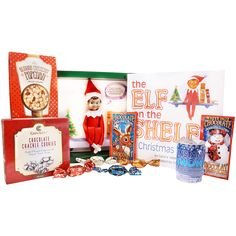 Book and Magical Elf Gifts - The Elf on the Shelf The Elf, Elf On The Shelf, Christmas Packages, Pre Christmas, Fun Games, Best Gifts, Santa, Packaging, Shelves