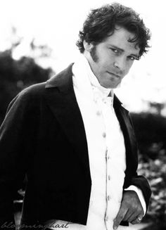 Mr. Darcy. Love Colin Firth as Mr Darcy. The A  version of Pride and Prejudice is the best