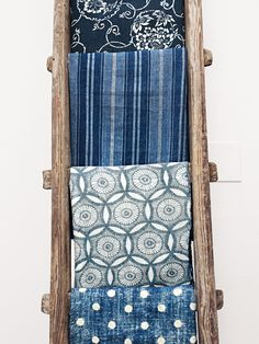 Japanese Indigo Throws