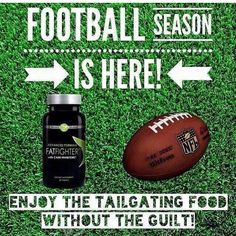 Football..  Tailgating...  Eat guilt free..  It Works Fat Fighters!
