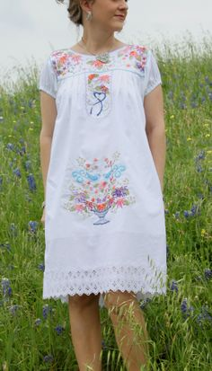 Sew Serendipity: cute pattern for a mexican wedding style dress