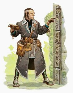 Half-Elf Investigator - Pathfinder PFRPG DND D&D d20 fantasy