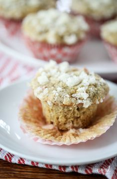 Homemade Rhubarb Muffins #rhubarb #muffins #recipe #breakfast #brunch #homemade #dessert Muffin Recipes, My Recipes, Strawberry Rhubarb Recipes, Freeze Rhubarb, Rhubarb Muffins, Crumble Topping, Best Breakfast Recipes, Moist Cakes, Food Now