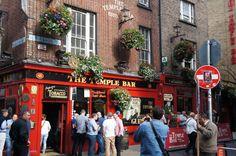 The Famous Temple Bar-Dublin Ireland June 2014