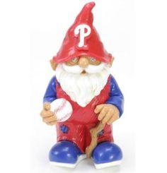 """Philadelphia Phillies Garden Gnome - 8"""" Mini"""
