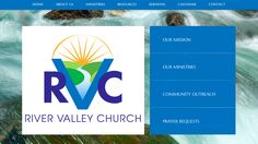 Join us at The River! We may have a new name, but our love of the Lord is as strong as ever! River Valley Church is now excited to announce the launch of our new website www.rivervalleychurch.faith. Check it out!