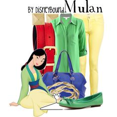 """Mulan"" by leslieakay on Polyvore"