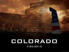 Aurora Colorado Movie Theatre Shooting Remembrance Poster