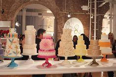 Cake Display At Brides Event 400x266