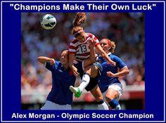 Soccer Mini Poster Alex Morgan Olympic & World by ArleyArtEmporium, $15.99