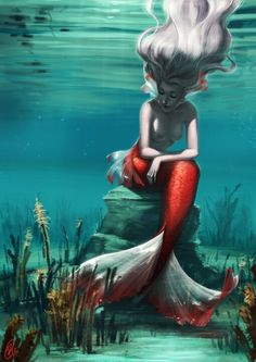 ♒ Mermaids Among Us ♒ art photography & paintings of sea sirens & water maidens -