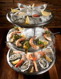 Seafood Tower at The Winery Restaurant Newport Beach